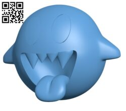 Bomb Boo H000635 file stl free download 3D Model for CNC and 3d printer