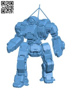 CP-10-Z Cyclops for Battletech – Robot H000818 file stl free download 3D Model for CNC and 3d printer
