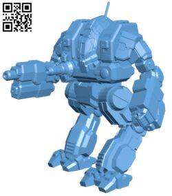 CTF-1X Cataphract for Battletech – Robot H000666 file stl free download 3D Model for CNC and 3d printer