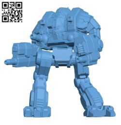 CTF-IM Cataphract Ilya Muromets for Battletech – Robot H000905 file stl free download 3D Model for CNC and 3d printer