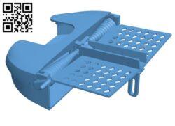 Card deck shuffler H000580 file stl free download 3D Model for CNC and 3d printer