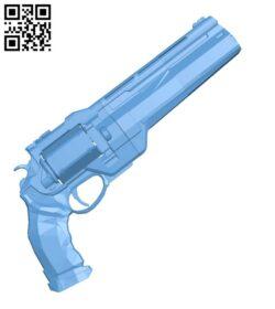 Cayde-6 Ace of Spades – Gun H000662 file stl free download 3D Model for CNC and 3d printer