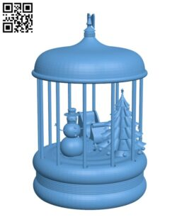 Christmas H001019 file stl free download 3D Model for CNC and 3d printer