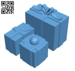 Christmas Presents H001031 file stl free download 3D Model for CNC and 3d printer