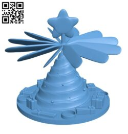 Christmas Pyramid H001032 file stl free download 3D Model for CNC and 3d printer