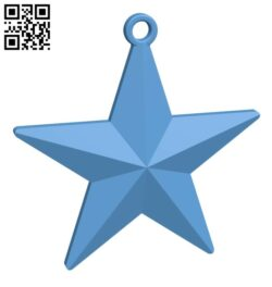 Christmas Tree Star H001036 file stl free download 3D Model for CNC and 3d printer