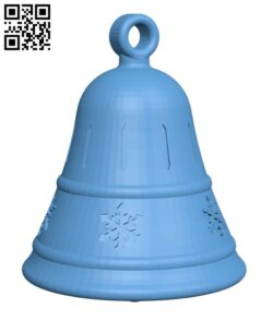Christmas bell ornament – with hidden compartment H001027 file stl free download 3D Model for CNC and 3d printer