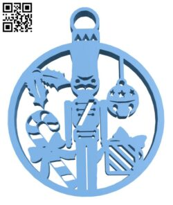 Christmas tree decoration H001094 file stl free download 3D Model for CNC and 3d printer