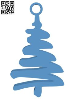 Christmas tree earrings H000975 file stl free download 3D Model for CNC and 3d printer