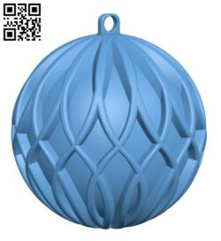 Christmas tree ornament H001035 file stl free download 3D Model for CNC and 3d printer