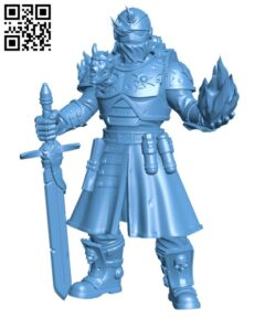 Corrupted Warlock H000498 file stl free download 3D Model for CNC and 3d printer