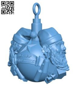 Crazy Christmas Tree Decoration H000962 file stl free download 3D Model for CNC and 3d printer
