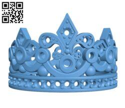Crown Ring H000724 file stl free download 3D Model for CNC and 3d printer