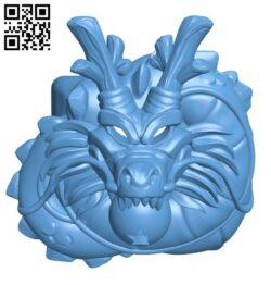 DBZ Shenron Mechanical keyboard Cherry Keycap H000667 file stl free download 3D Model for CNC and 3d printer
