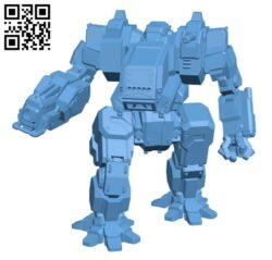 DRG-Flame Dragon for Battletech – Robot H000848 file stl free download 3D Model for CNC and 3d printer