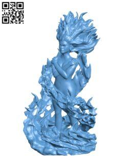 Dark Phoenix H000821 file stl free download 3D Model for CNC and 3d printer