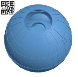 Death Star H000584 file stl free download 3D Model for CNC and 3d printer