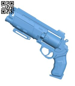 Duke MK. 44 Hand Cannon from Destiny H000759 file stl free download 3D Model for CNC and 3d printer