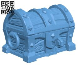 Dungeon Chest H000850 file stl free download 3D Model for CNC and 3d printer