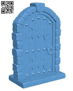 Dungeon Doors H000726 file stl free download 3D Model for CNC and 3d printer