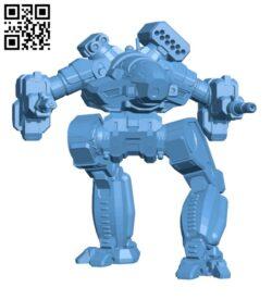 Ebon Jaguar Prime, AKA (Cauldron – Born) for Battletech – Robot H000558 file stl free download 3D Model for CNC and 3d printer