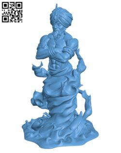 Efreet Sultan H000527 file stl free download 3D Model for CNC and 3d printer