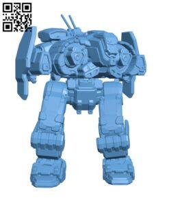 FNR-5 Fafnir for Battletech – Robot H000561 file stl free download 3D Model for CNC and 3d printer