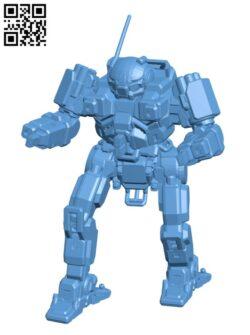 FS9-A Firestarter for Battletech – Robot H000586 file stl free download 3D Model for CNC and 3d printer