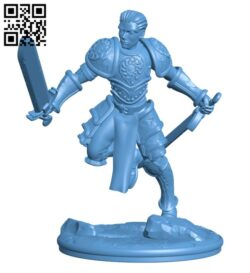 Fantasy Knight H000637 file stl free download 3D Model for CNC and 3d printer