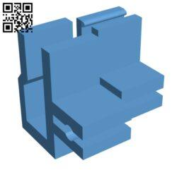 Filament Clip, Filament Holder, Filament Keeper H000727 file stl free download 3D Model for CNC and 3d printer