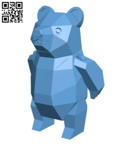 Formosan Black Bear H000761 file stl free download 3D Model for CNC and 3d printer