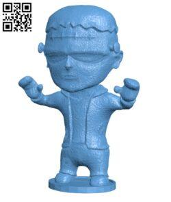 Frankenstein (halloween) H000979 file stl free download 3D Model for CNC and 3d printer