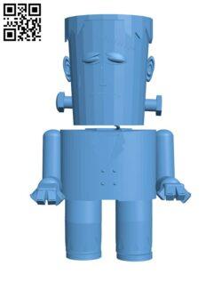 Frankenstein's monster H001209 file stl free download 3D Model for CNC and 3d printe