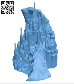 Frozen Castle H000610 file stl free download 3D Model for CNC and 3d printer