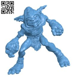 Goblin H000730 file stl free download 3D Model for CNC and 3d printer