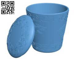Got Stark Dice Cup H000613 file stl free download 3D Model for CNC and 3d printer