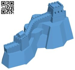 Great Wall of China H000639 file stl free download 3D Model for CNC and 3d printer