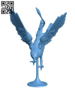 Griffin H000670 file stl free download 3D Model for CNC and 3d printer