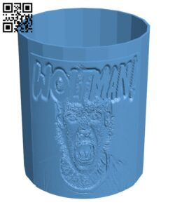 Halloween Snack Cup H001049 file stl free download 3D Model for CNC and 3d printer