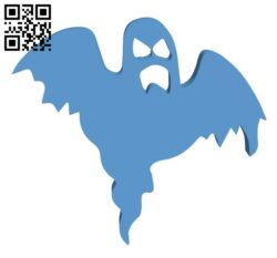 Halloween ghost H000986 file stl free download 3D Model for CNC and 3d printer