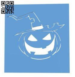 Halloween pumpkin light H001048 file stl free download 3D Model for CNC and 3d printer