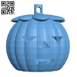 Halloween pumpkin lights H000993 file stl free download 3D Model for CNC and 3d printer