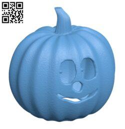 Happy jack o lantern – Halloween H000938 file stl free download 3D Model for CNC and 3d printer
