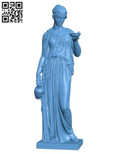 Hebe H000642 file stl free download 3D Model for CNC and 3d printer