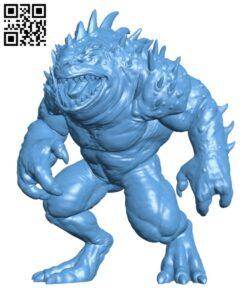 Hezrou H000615 file stl free download 3D Model for CNC and 3d printer