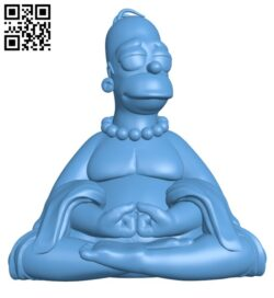 Homer buddha H000616 file stl free download 3D Model for CNC and 3d printer