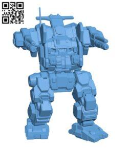 JM6-S4 Jagermech for Battletech – Robot H000735 file stl free download 3D Model for CNC and 3d printer