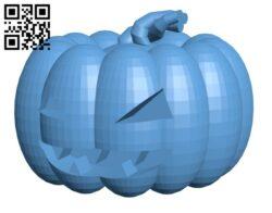 Jack O Lantern – Halloween H000940 file stl free download 3D Model for CNC and 3d printer