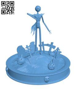 Jack Skellignton – Halloween H000941 file stl free download 3D Model for CNC and 3d printer