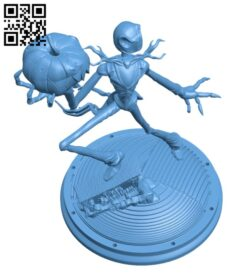 Jack Skellington H000766 file stl free download 3D Model for CNC and 3d printer